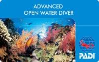 アドヴァンスオープンウォーターダイバー認定カード