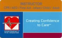 EFRインストラクター認定カード