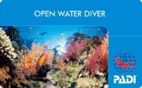 オープンウォーターダイバー認定カード