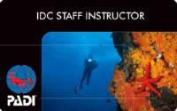 PADI-IDCSI認定カード