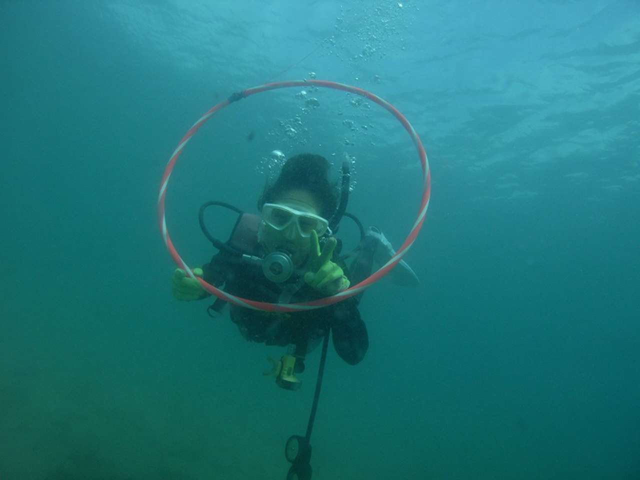 和歌山県南紀白浜でAYANO水中画像1