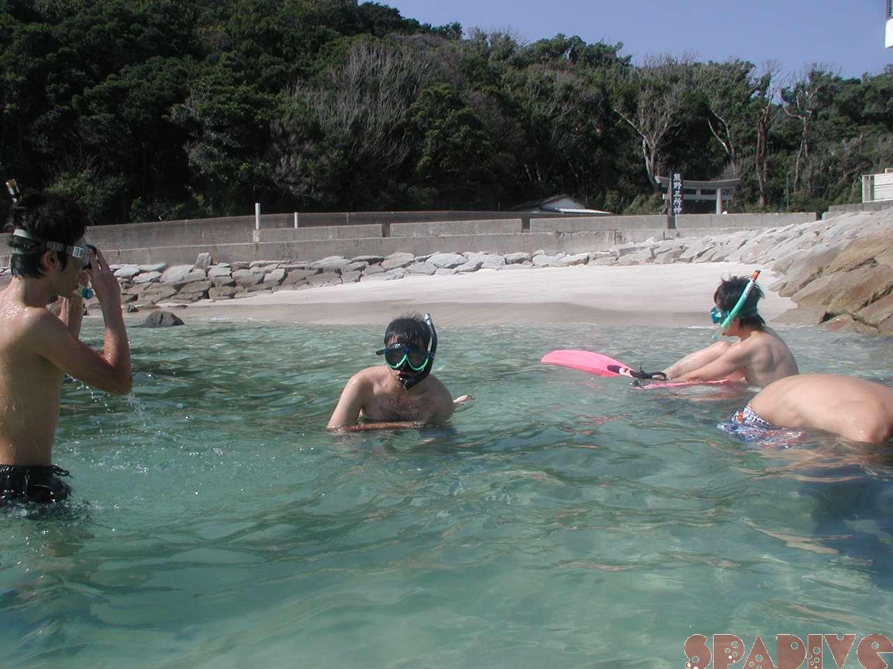 2006年9月白浜権現崎シュノーケリング画像