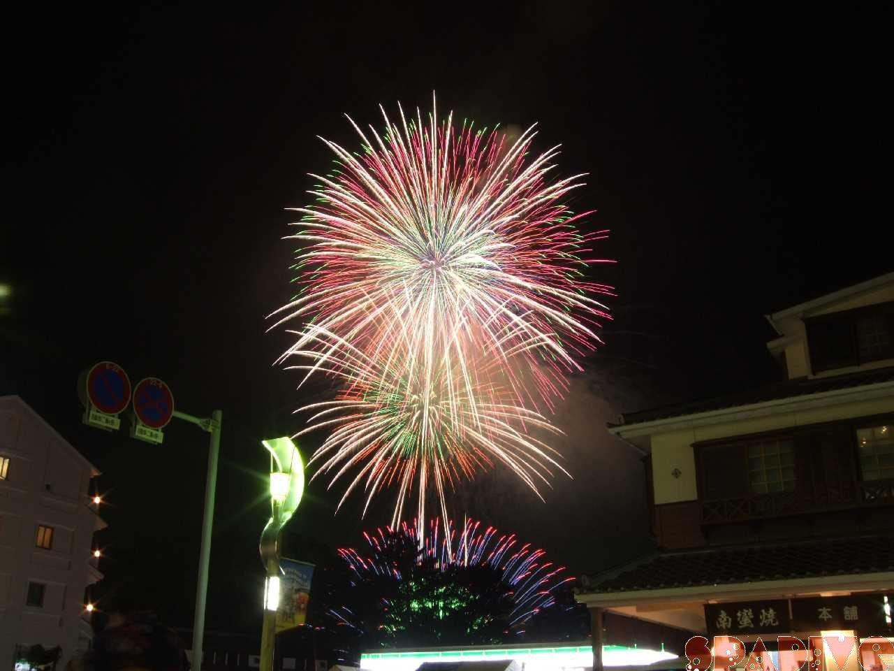 2009年白浜花火フェスティバル|7/30/2009