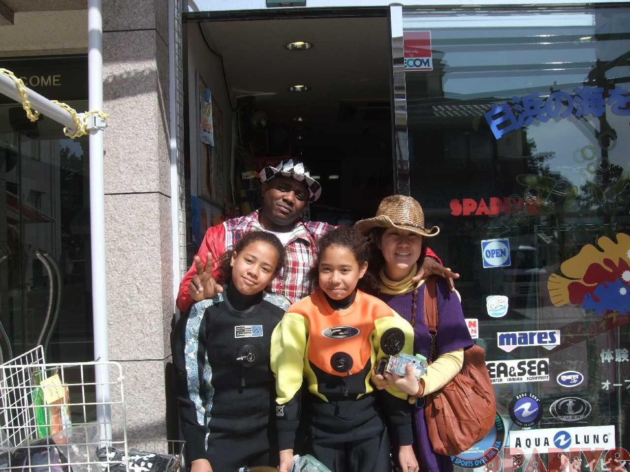 体験ダイビング|4/4/2010白浜海情報 権現崎ビーチ