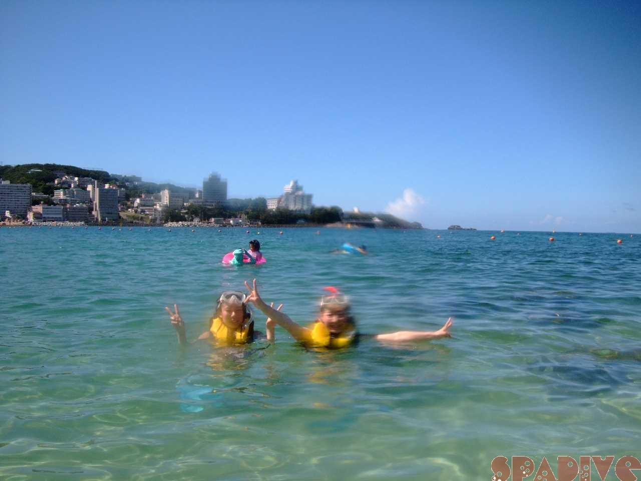 2010年8月撮影海フォトギャラリー 南紀白浜スパダイブ