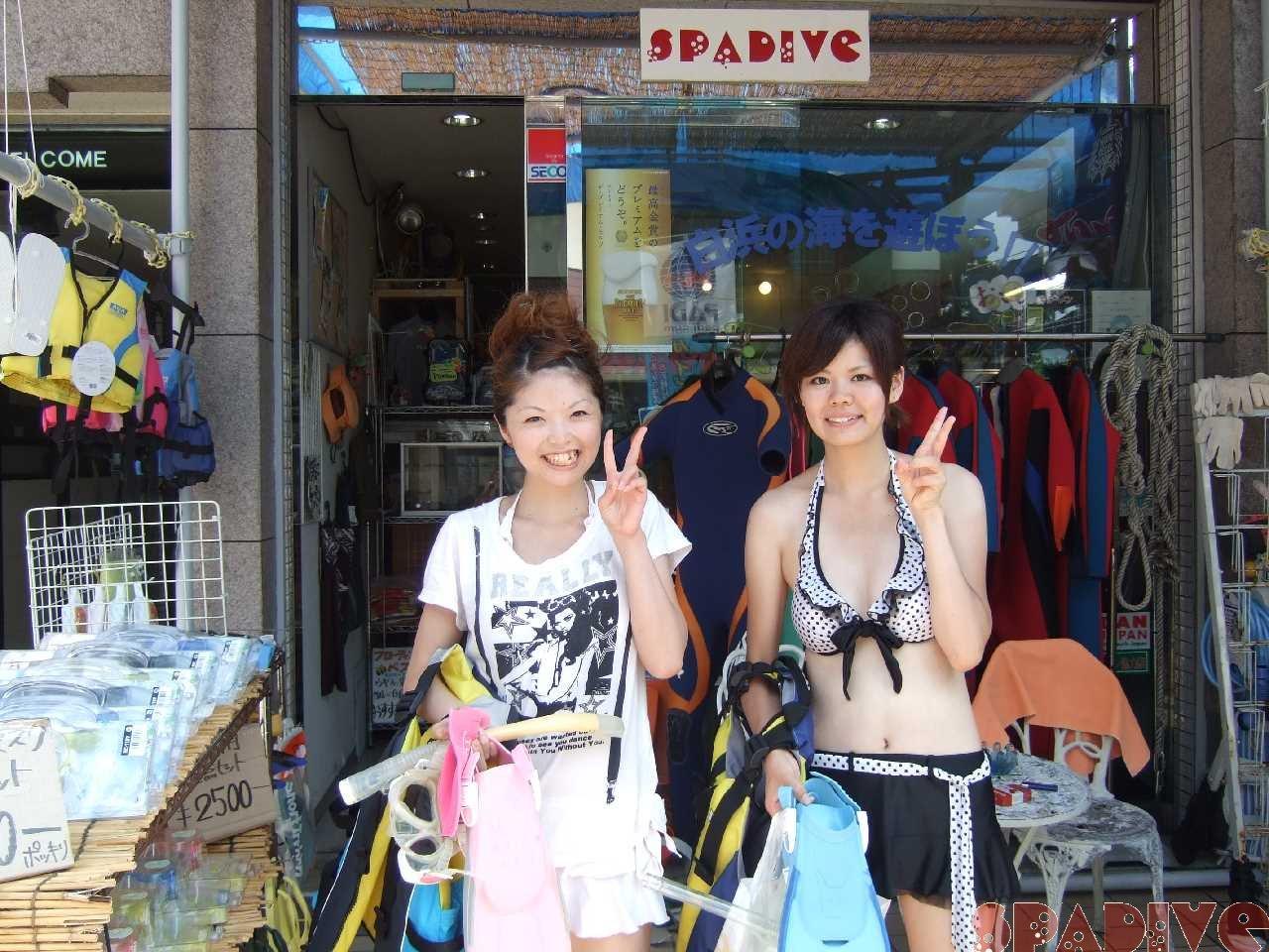 体験スノーケリング|8/23/2010白浜権現崎
