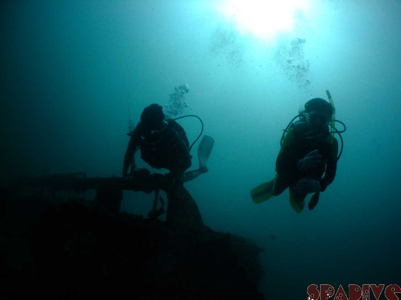 沈船ボートファンダイブ|OWDライセンス取得コース|9/18/2010
