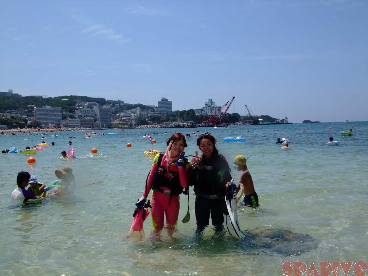 権現崎 体験ダイビング|8/10/2011南紀白浜海情報