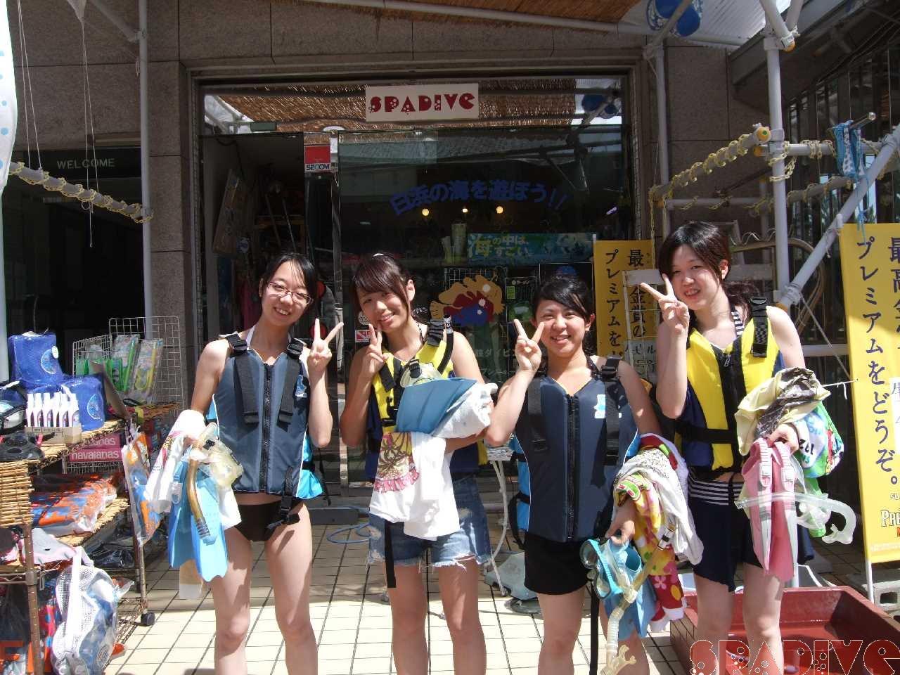 体験スノーケリング|9/15/2011南紀白浜 権現崎