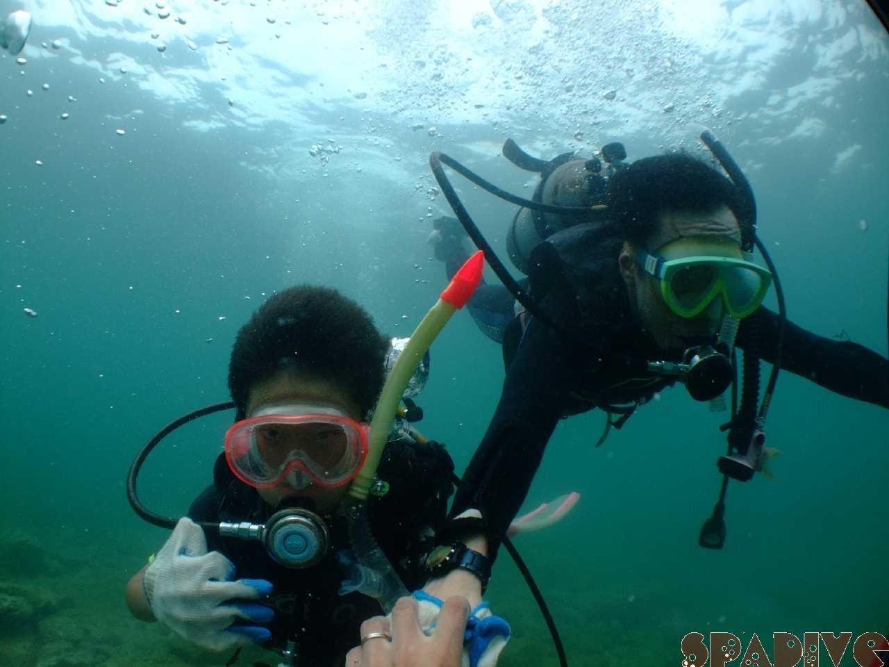 体験ダイビング|OWDライセンス取得コース|7/22/2012