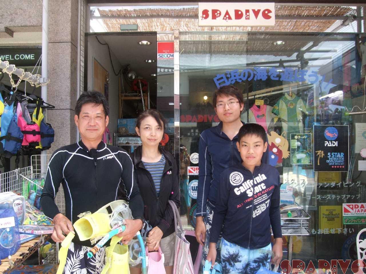 8/3/2012 体験スノーケリング
