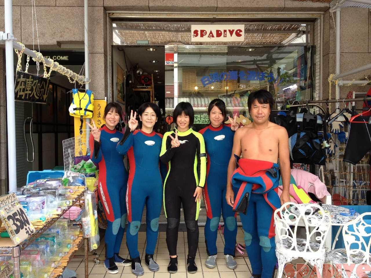 OWDライセンス取得コース|体験ダイビング|8/16/2012