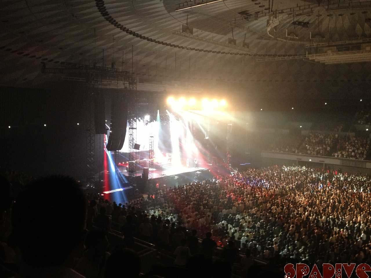 Van Halen ライブ Japan Tour 2013 6/24大阪中央体育館