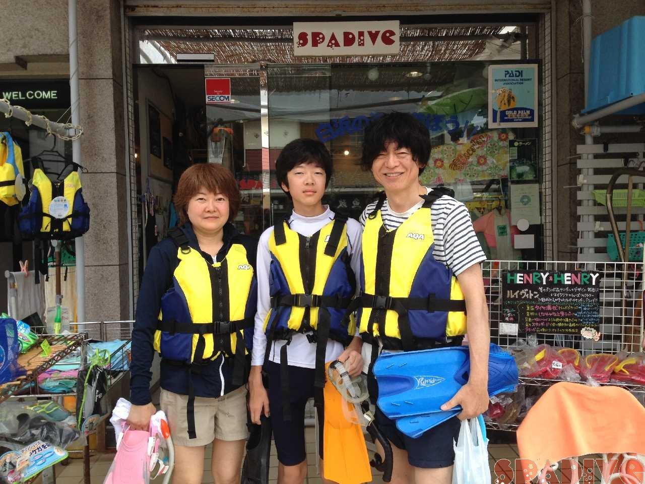権現崎 体験スノーケリング 7/28/2014