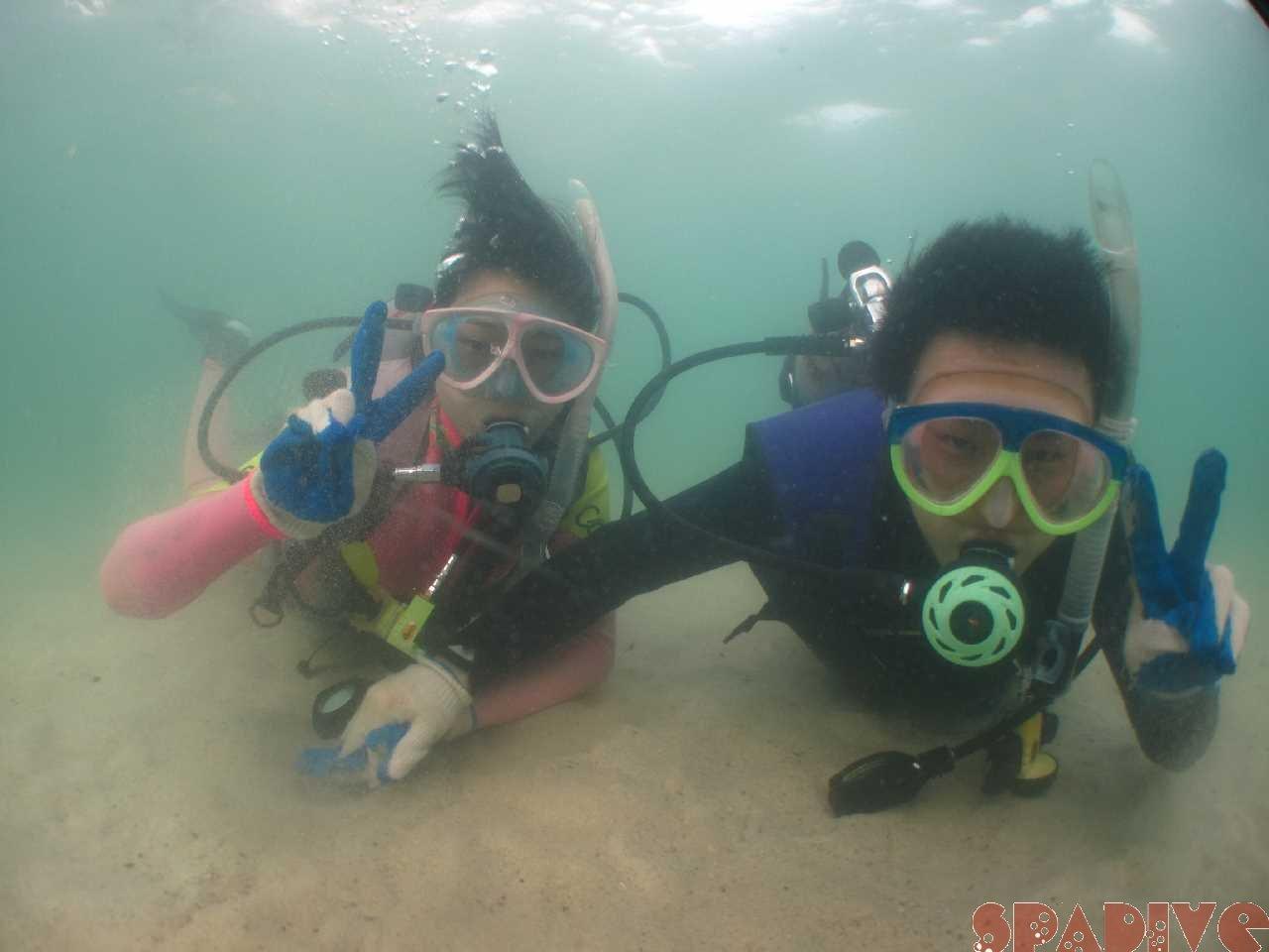 体験ダイビング&スノーケリング 8/24/2014