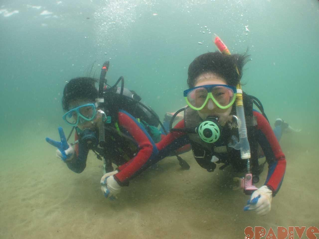 体験ダイビング 6/27/2015