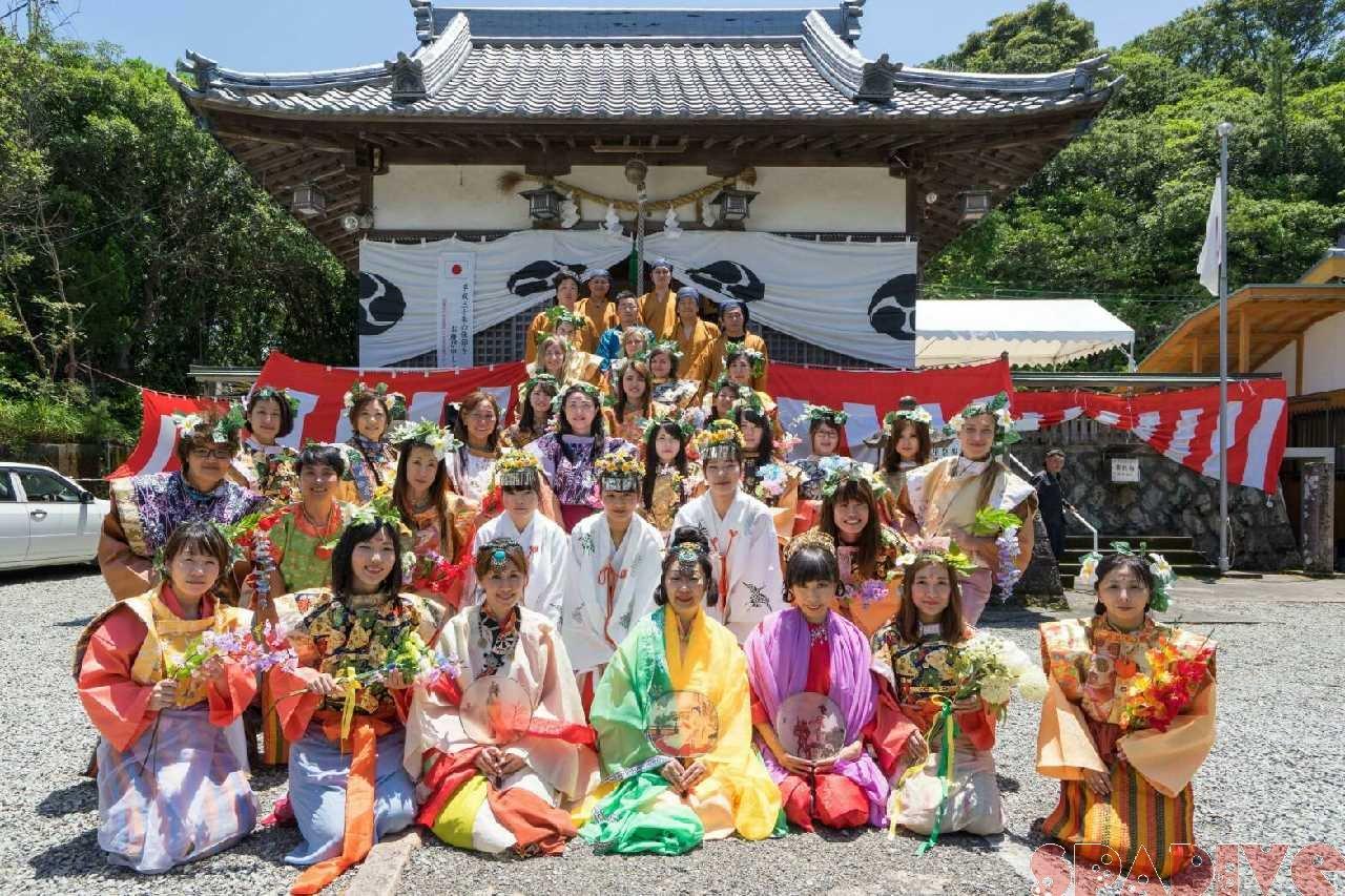 第32回献湯祭|衣装着用で行列行進! 6/1/2018