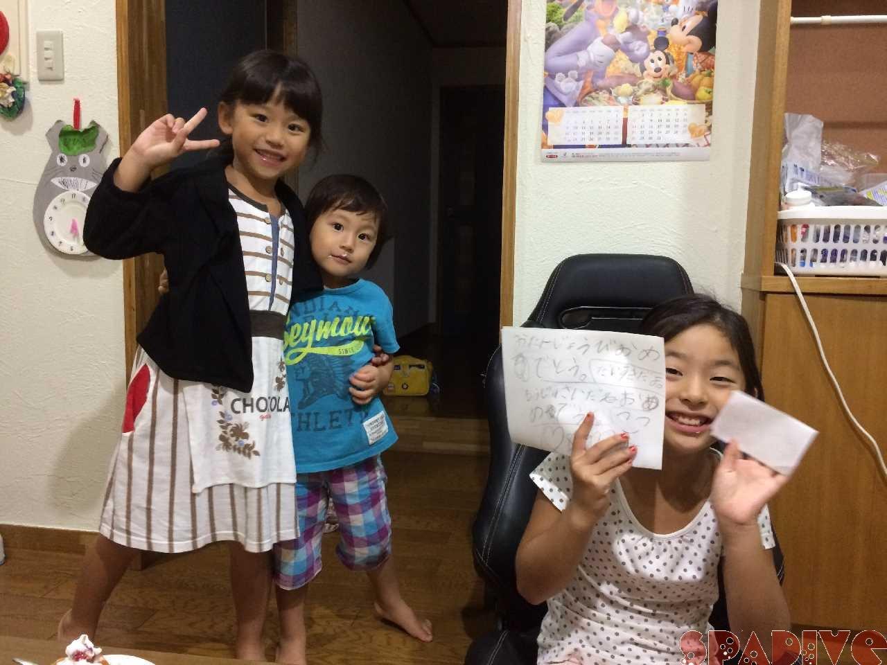 長女10歳!!白浜人になって10年になります^^; 9/26/2018