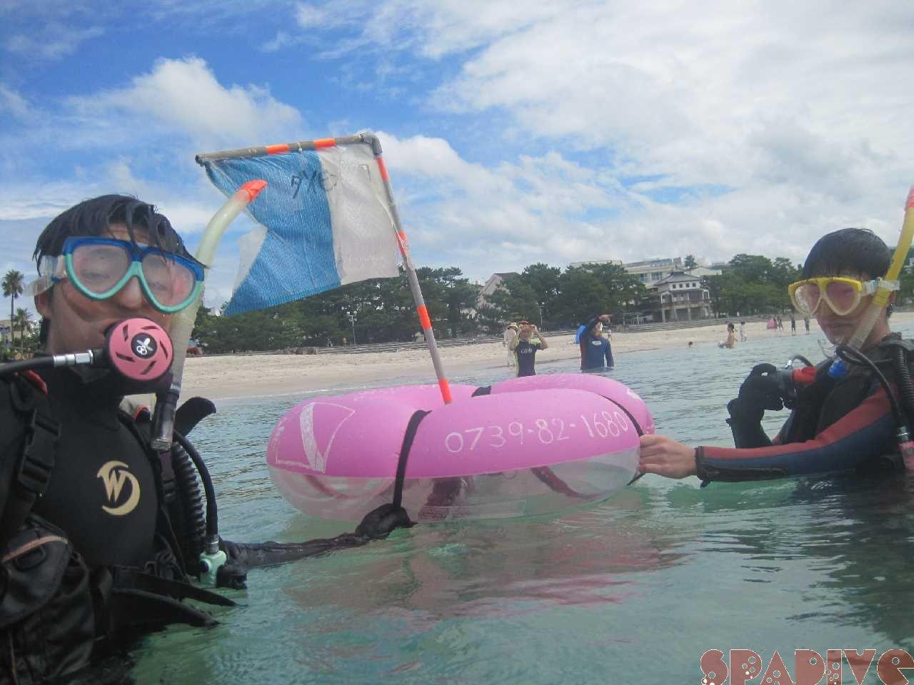 9/10/20体験ダイビング-南紀白浜|自宅で水中姿勢のコツ掴む方法