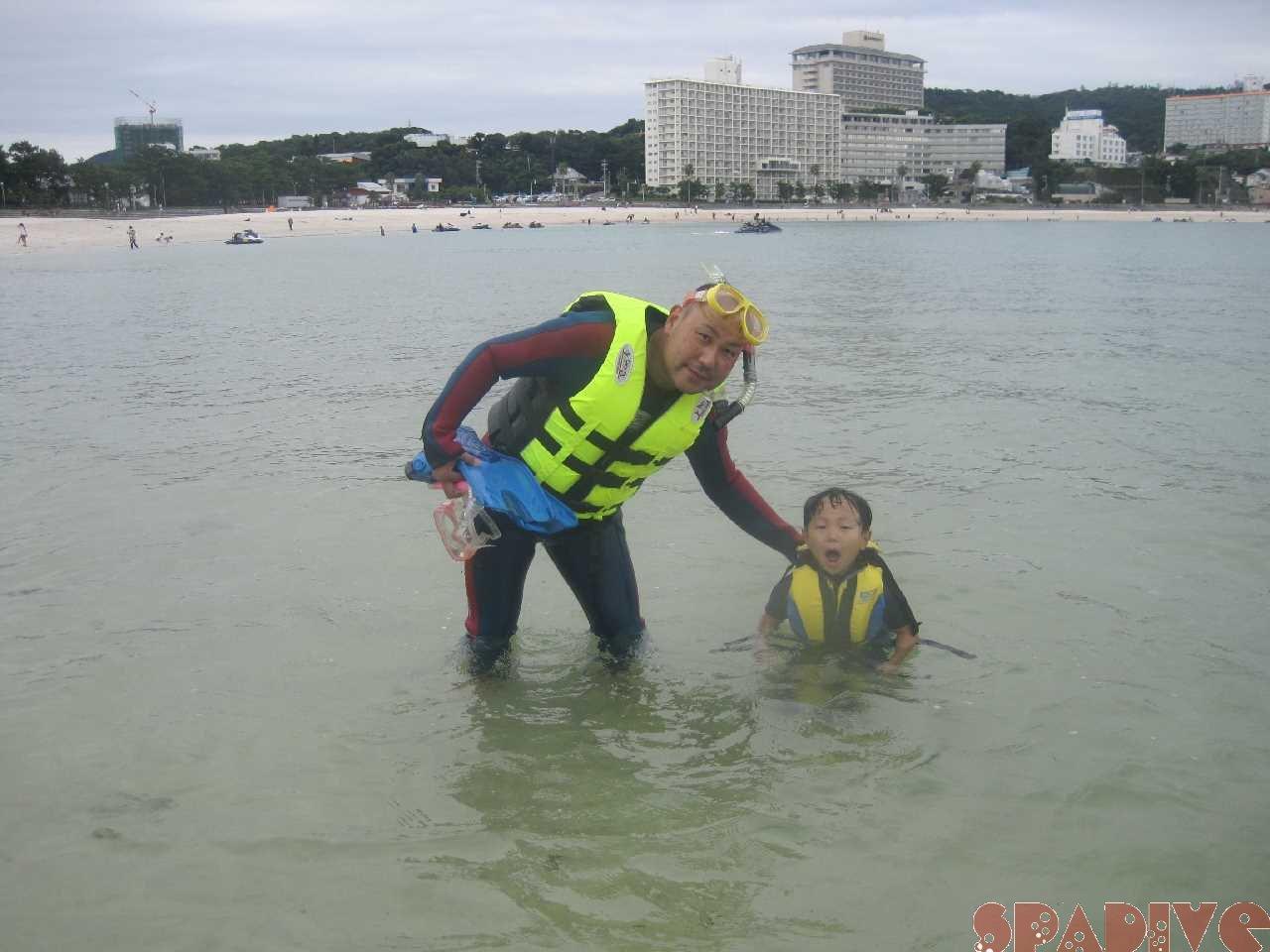 白浜権現崎9月の水面画像1