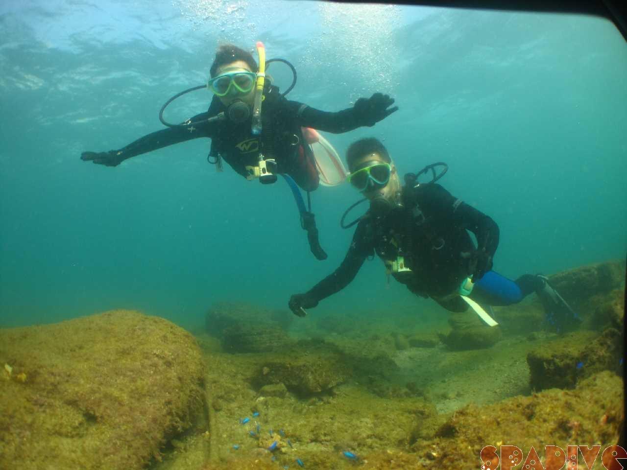 10/25/20体験ダイビング!初めてとはビックリ水中姿勢|南紀白浜
