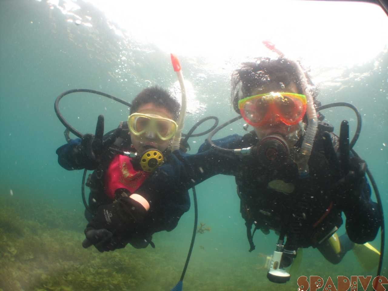 9歳バブルメーカー体験ダイビング|3/30/2021南紀白浜