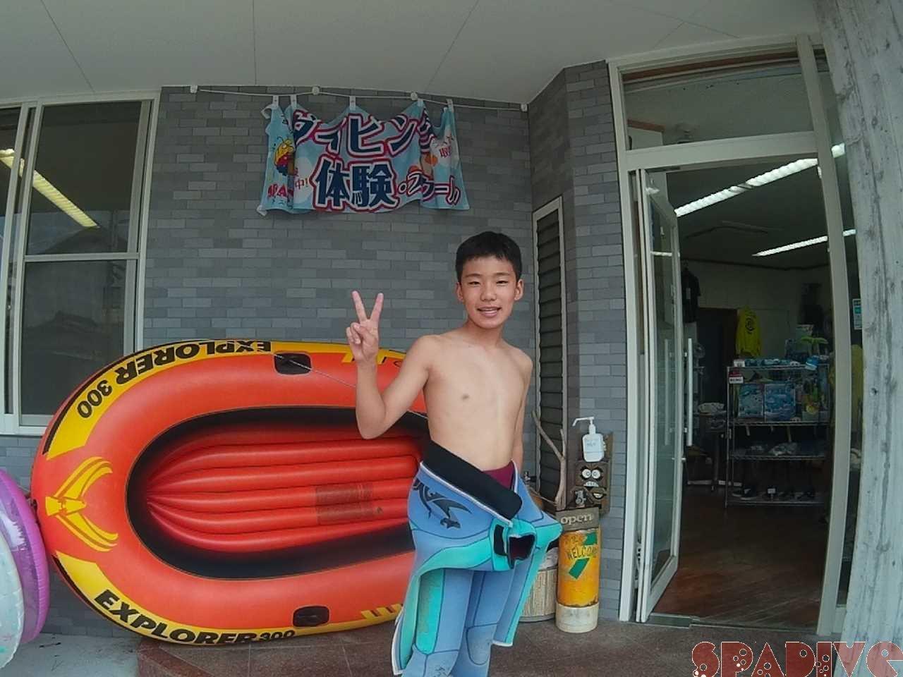 体験ダイビング|8/14/2021南紀白浜
