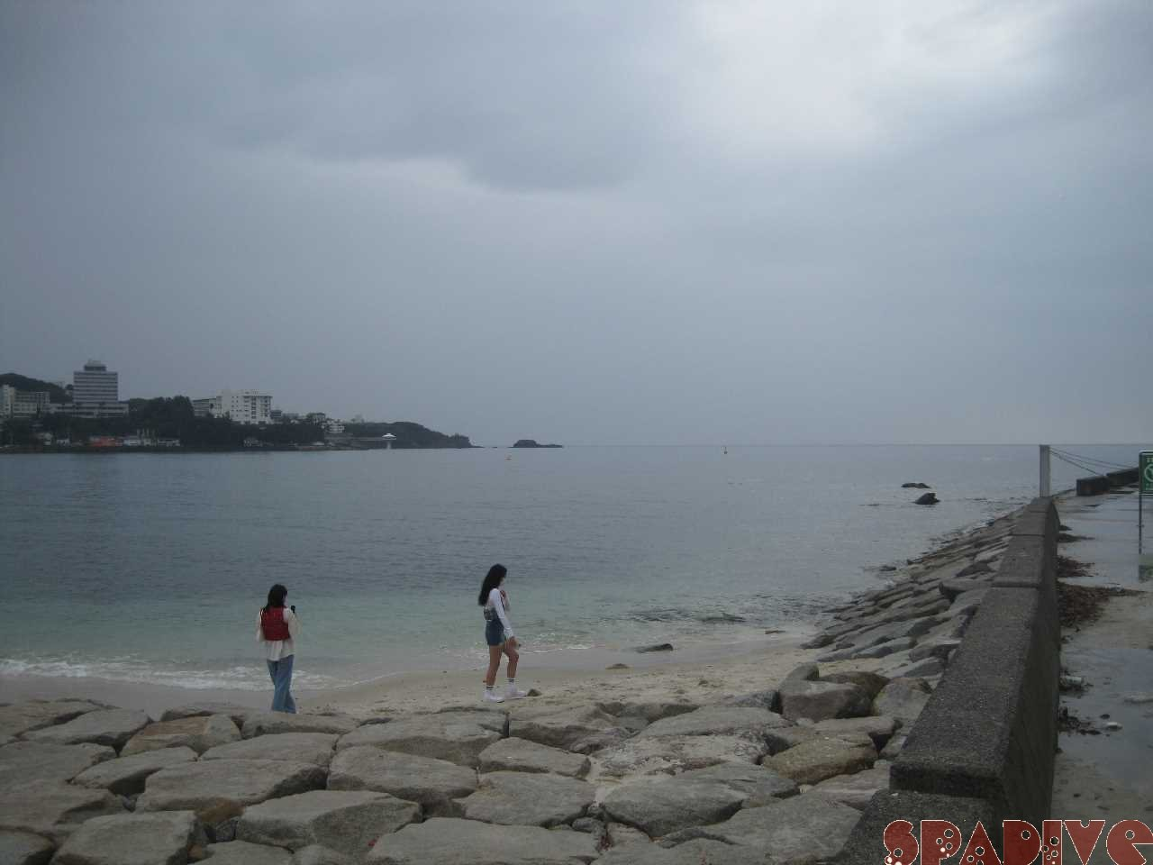 白浜権現崎ビーチ水中画像