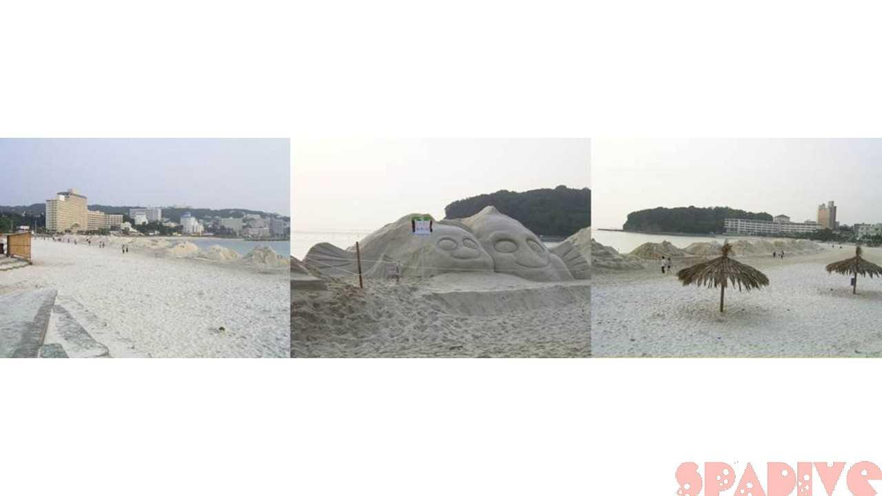 しらら浜「砂まつり」|5/23/2004南紀白浜