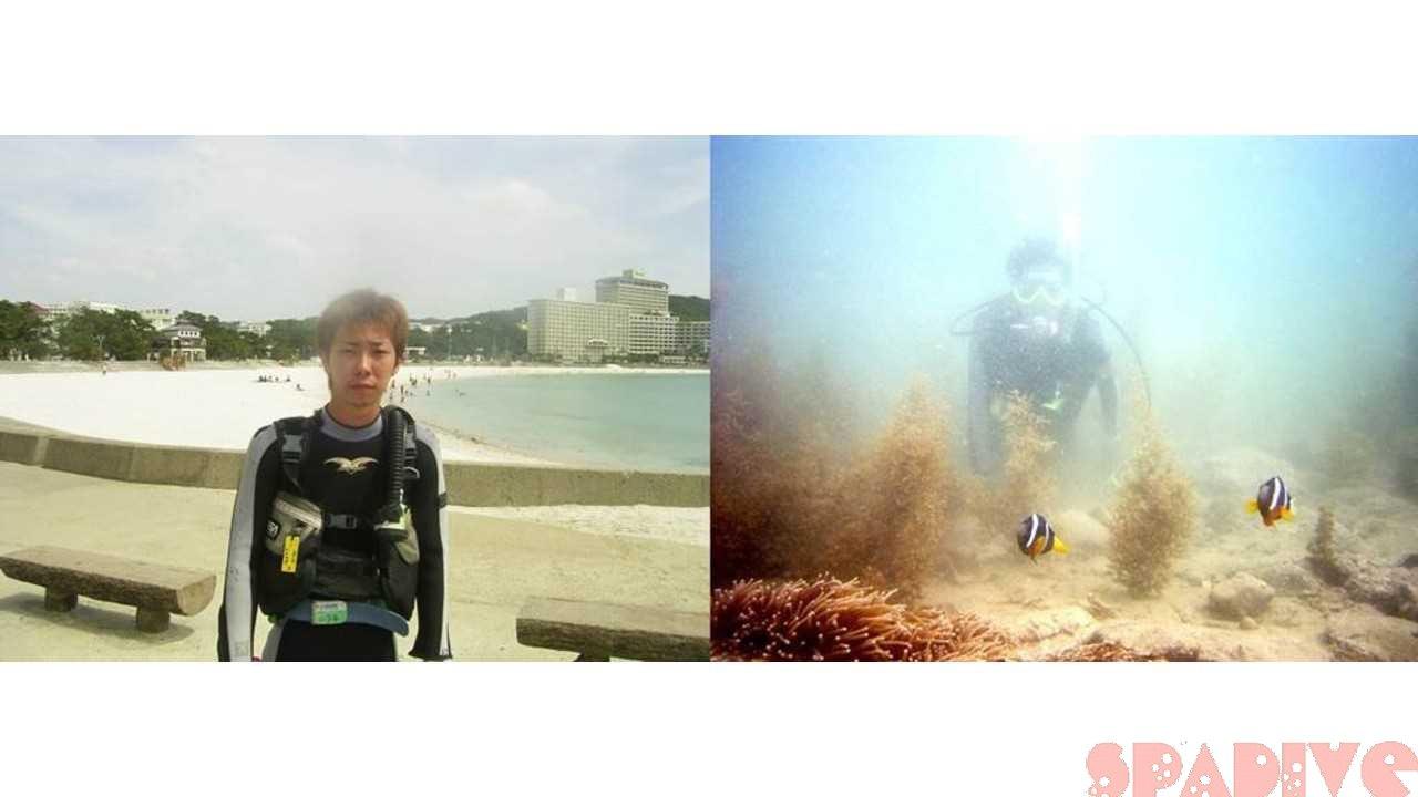 体験ダイビング|5/15/2004白浜権現崎