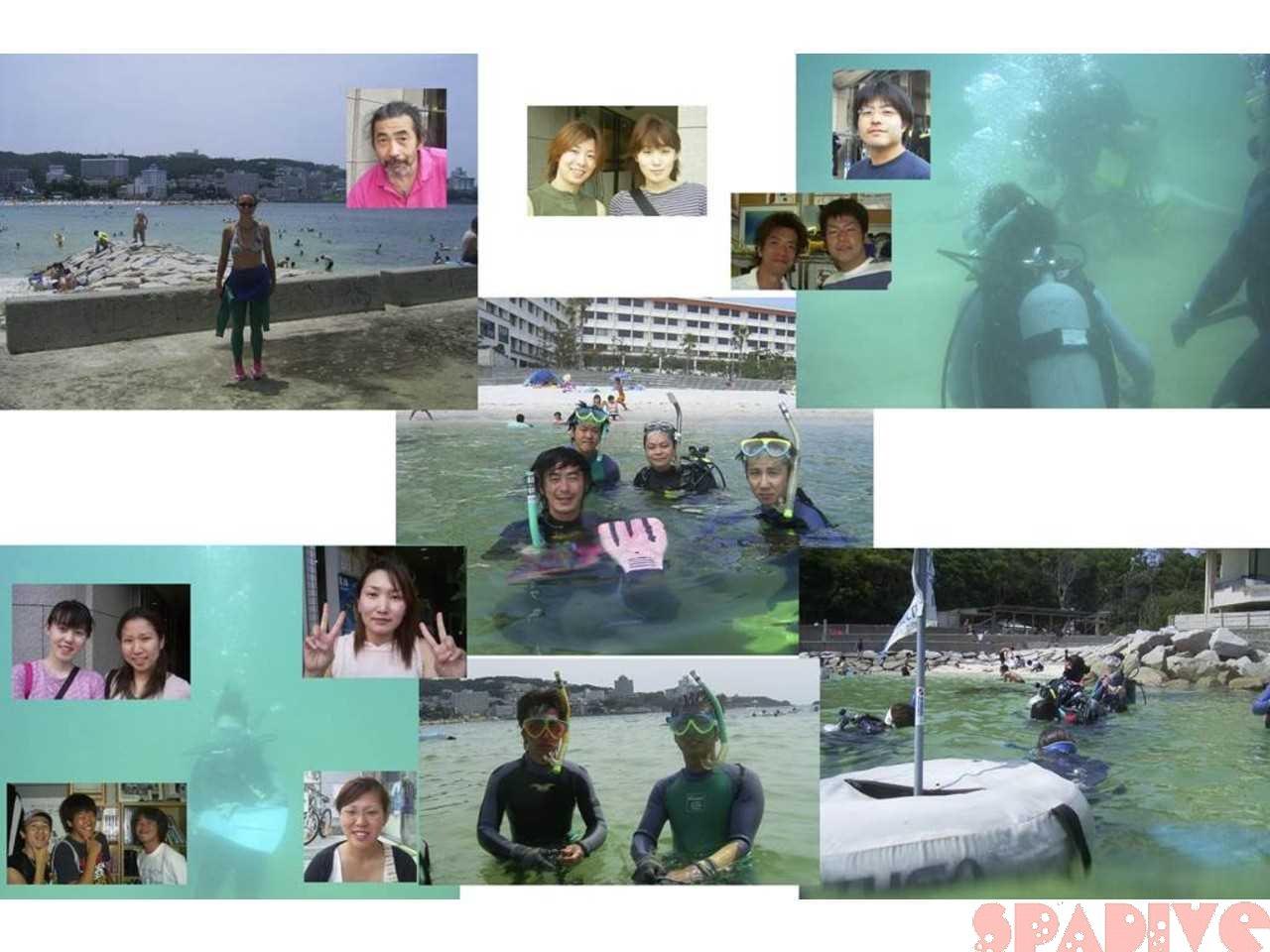 権現崎ビーチファンダイブ&体験ダイビング|7/11/2004白浜