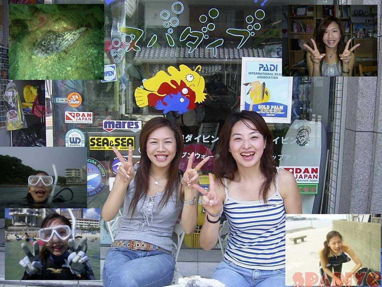 OWDライセンス取得スクール|8/1-3/2004白浜権現崎