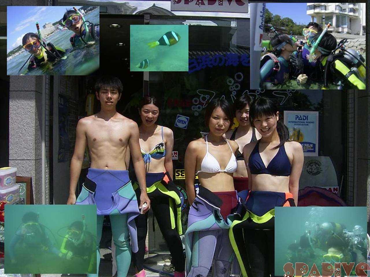 体験ダイビング|8/9/2004南紀白浜