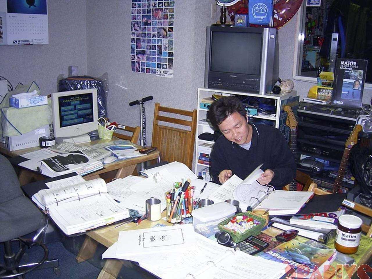 PADIアシスタントインストラクターAIコース初日座学講習 5/15/2006