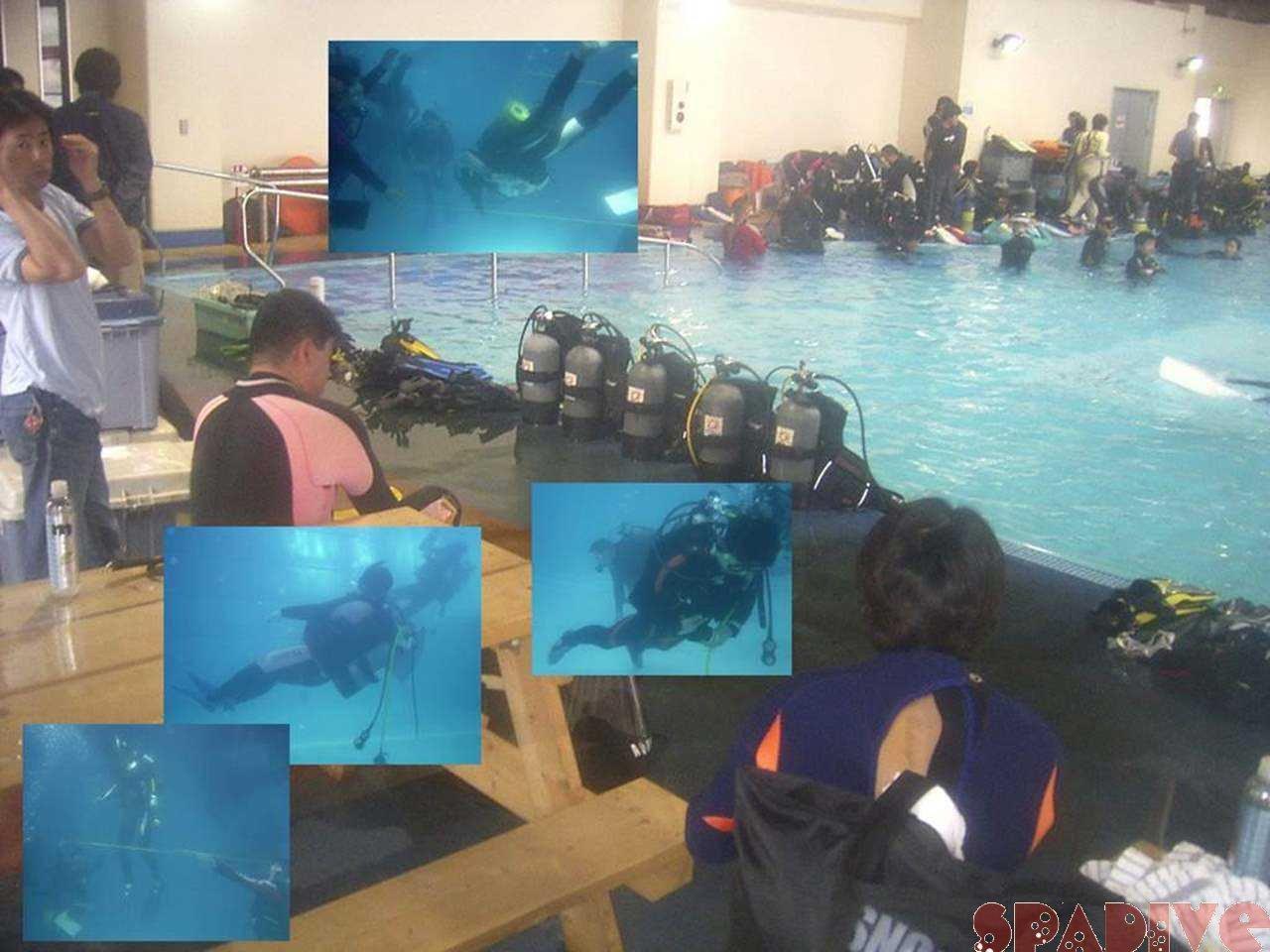 器材モニター会&プールトレーニング|3/26/2006白崎海洋公園
