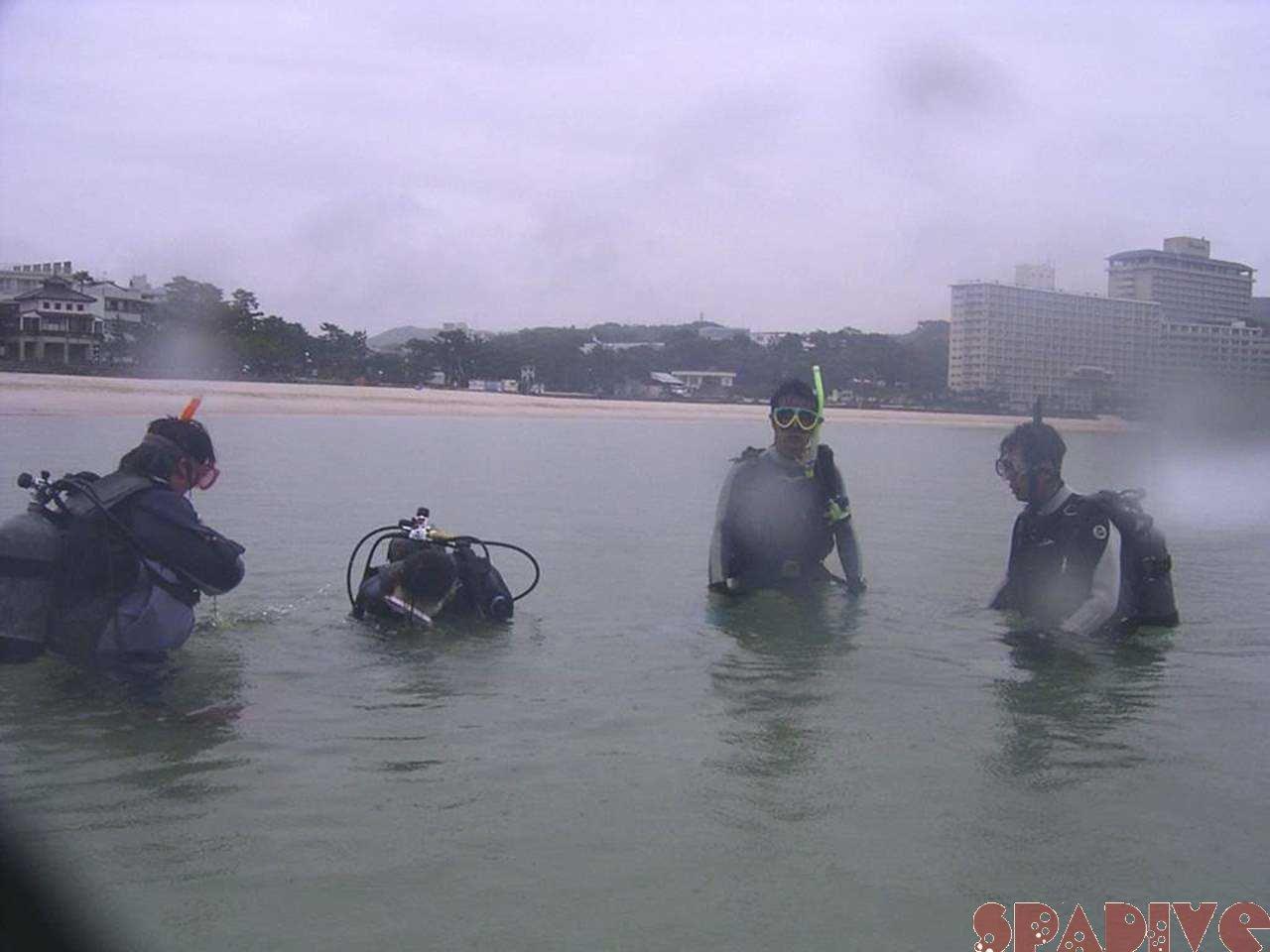 PADIアシスタント・インストラクターAIコース3日目|5/17/2006白浜