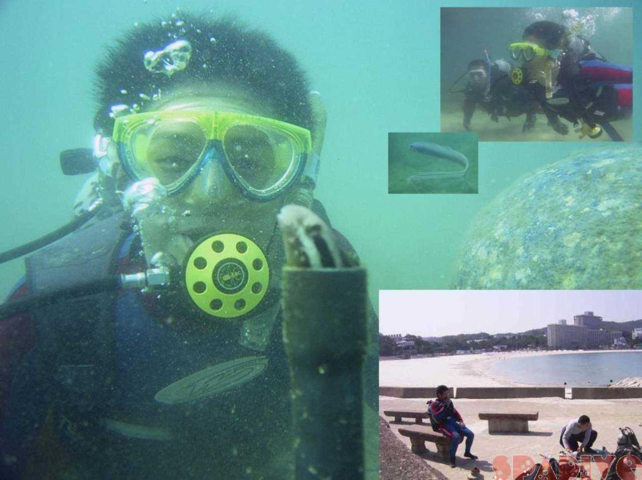 体験ダイビング|IDCイントラ開発コース|5/30/2006白浜