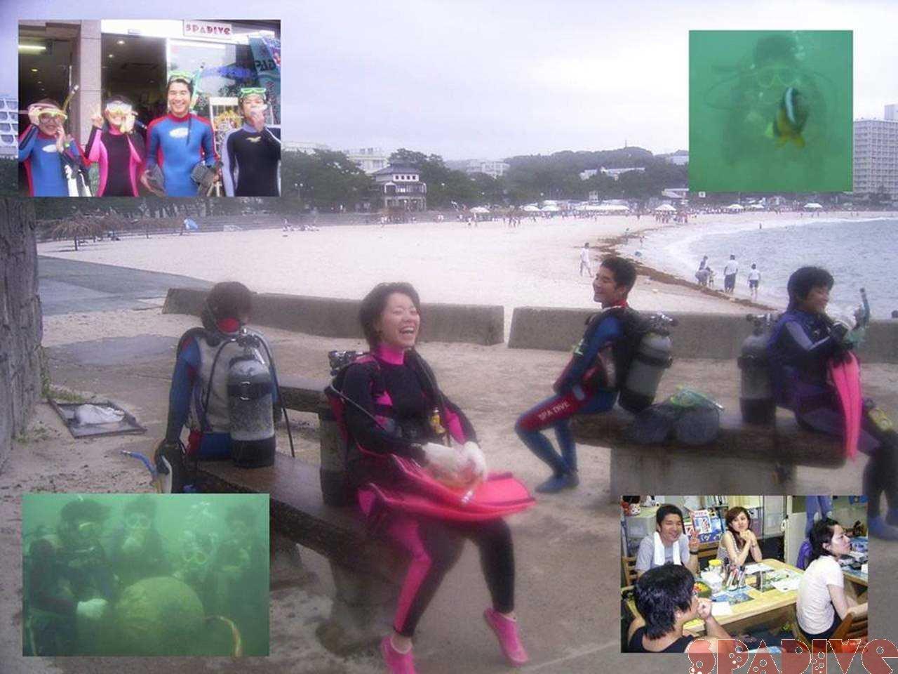 体験ダイビング|7/2/2006白浜権現崎
