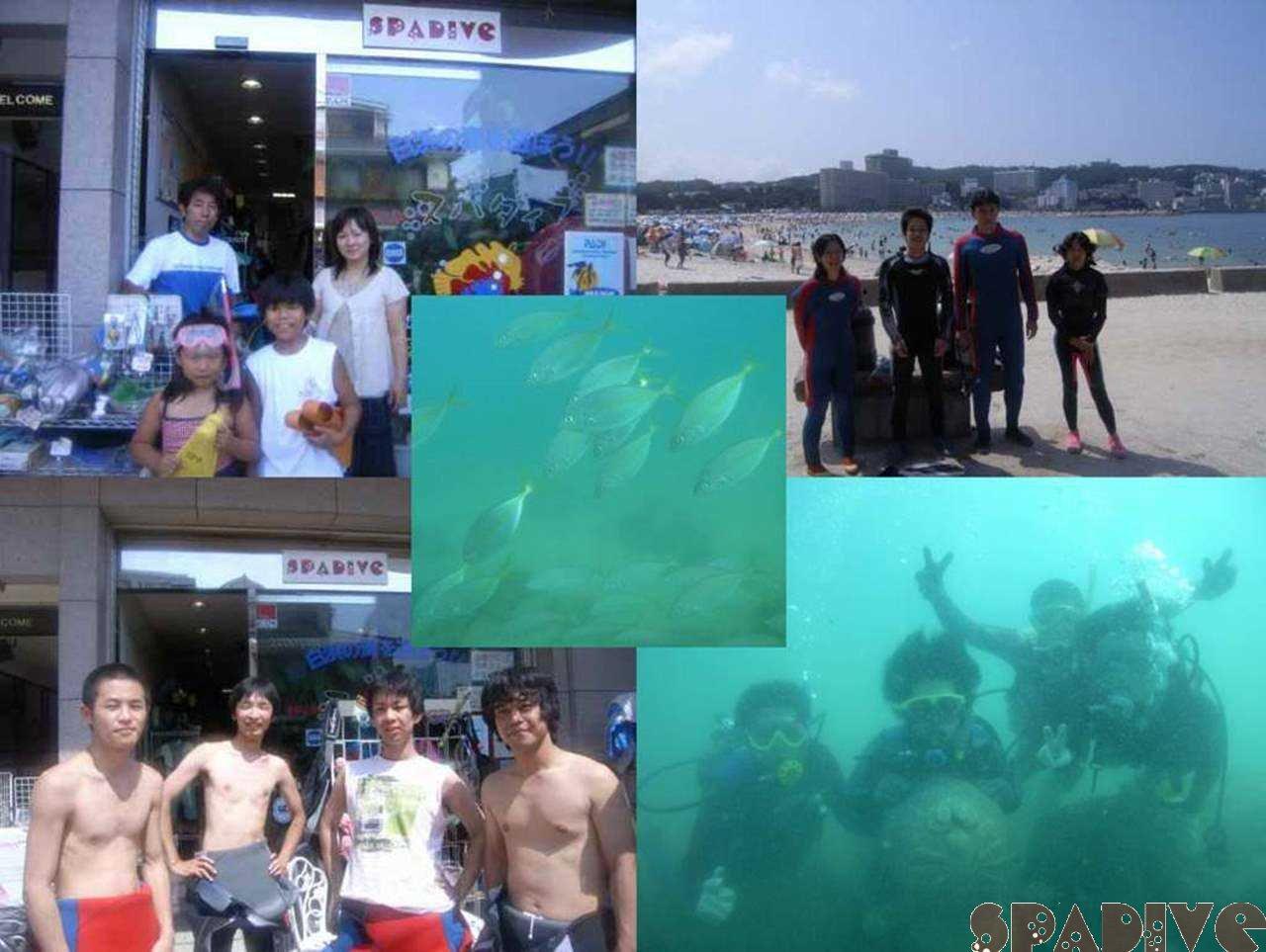体験ダイビング&スノーケリング|8/6/2006白浜権現崎