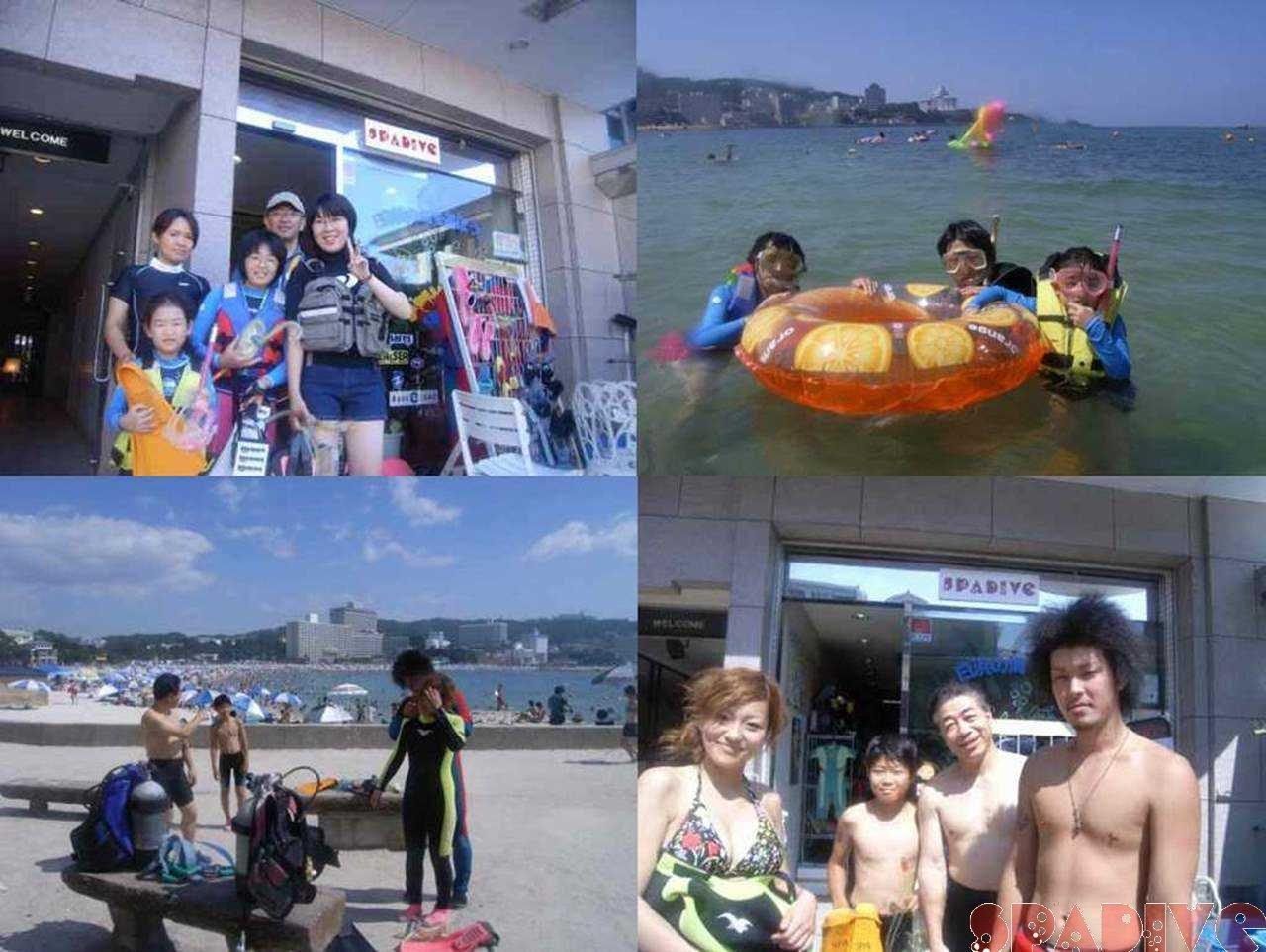 体験スノーケリング&ダイビング|8/7/2006白浜