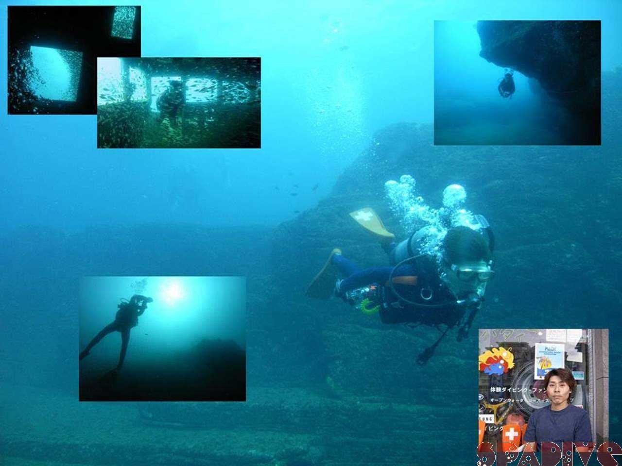 三段壁&沈船ボート SP講習ファンダイブ 10/22/2006白浜