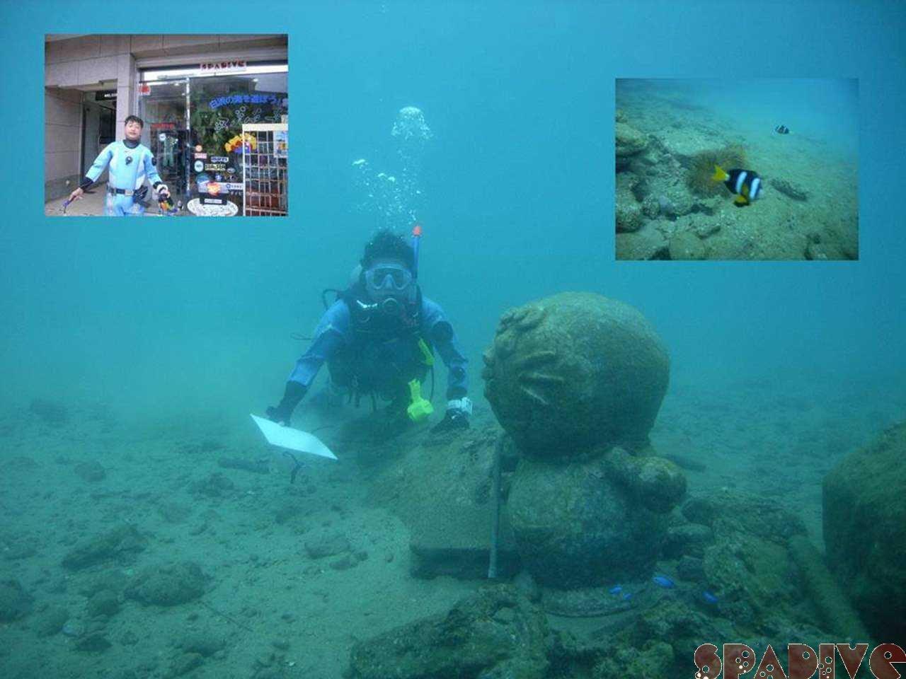 権現崎ビーチ水中ナビゲーションコース|11/23/2006白浜