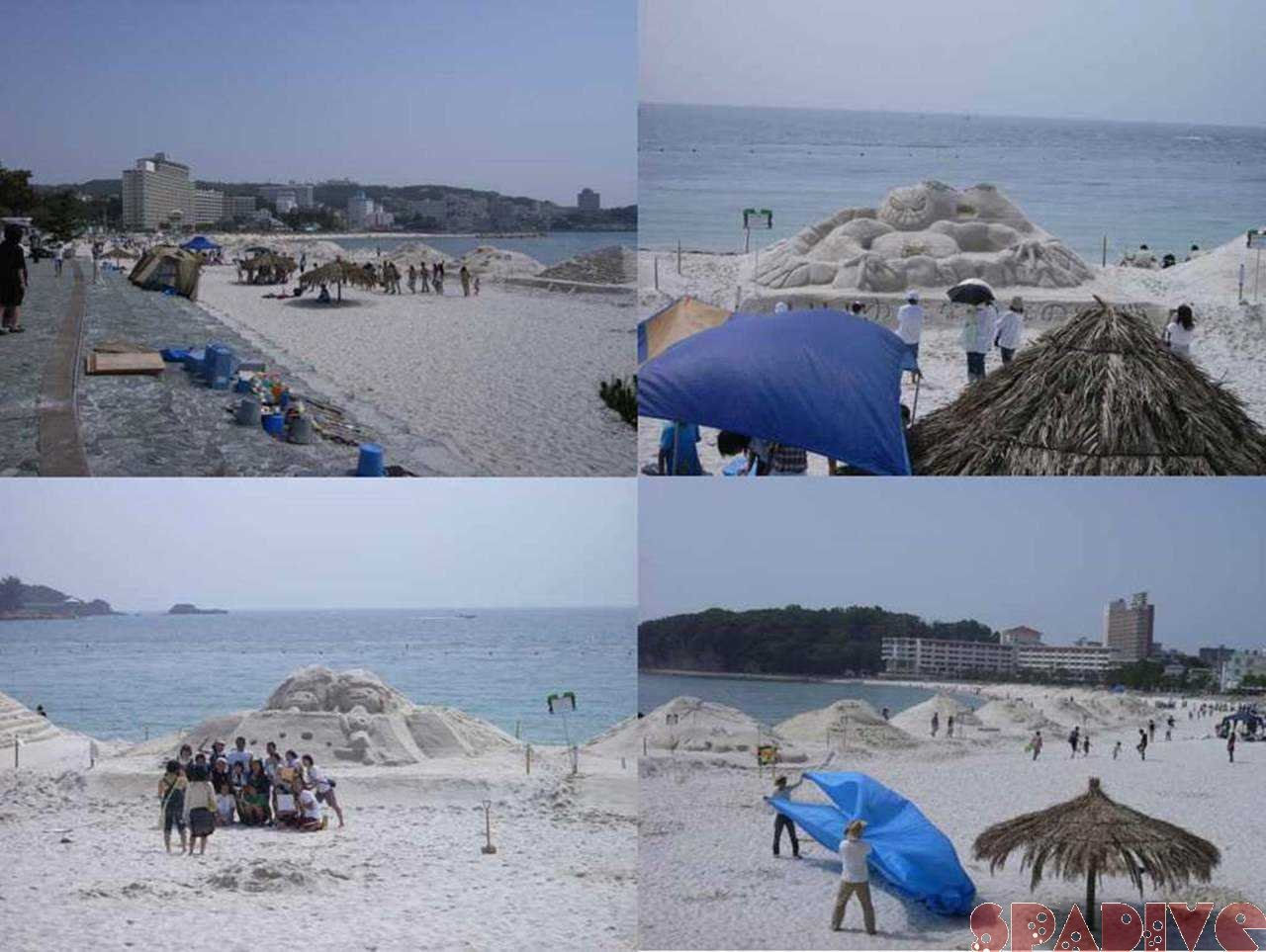 白良浜 砂まつり|5/27/2007南紀白浜