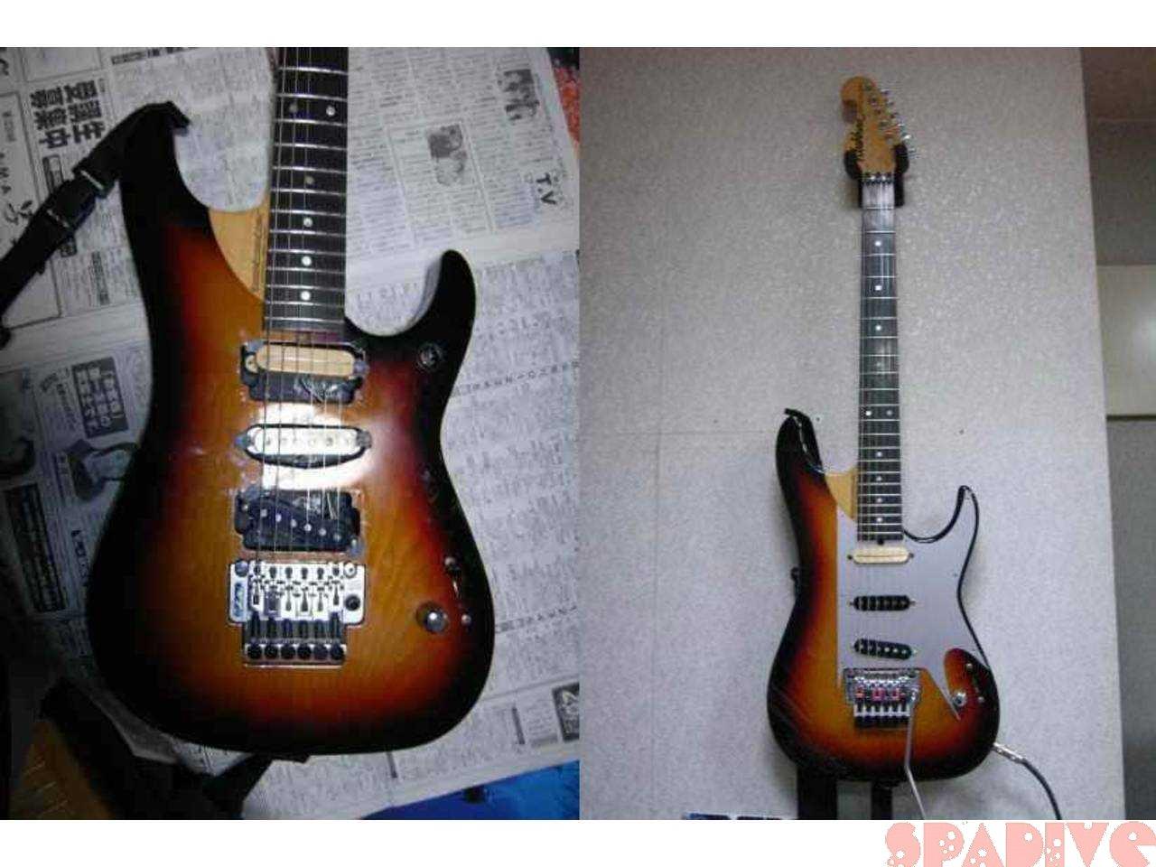 ギター改造その7|Washburn N4改造N5化 組み立て完了|3/21/2007
