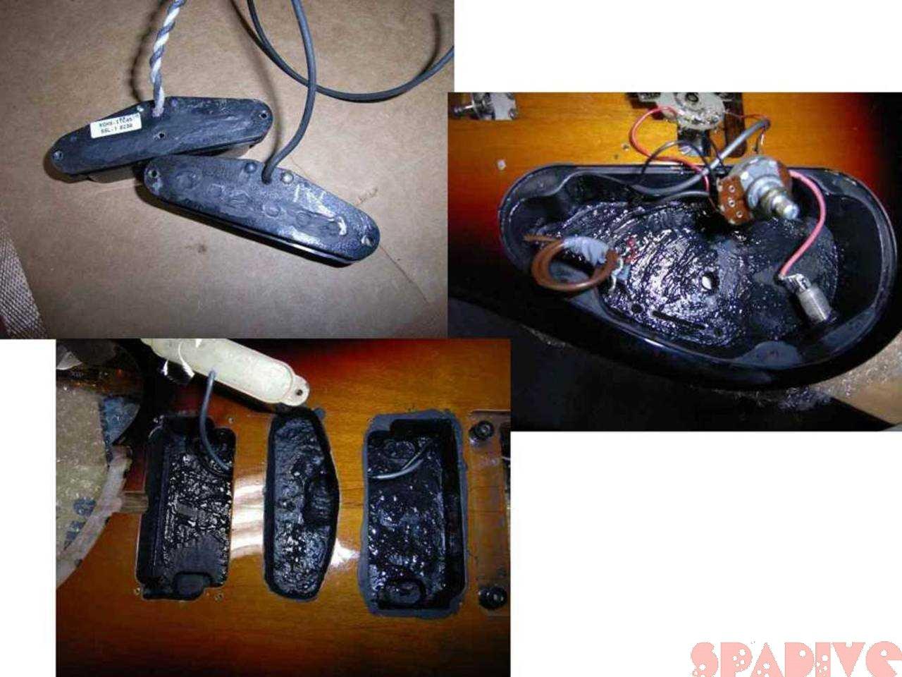 ギター改造その8 Washburn N4改N5化 ノイズ対策 3/23/2007