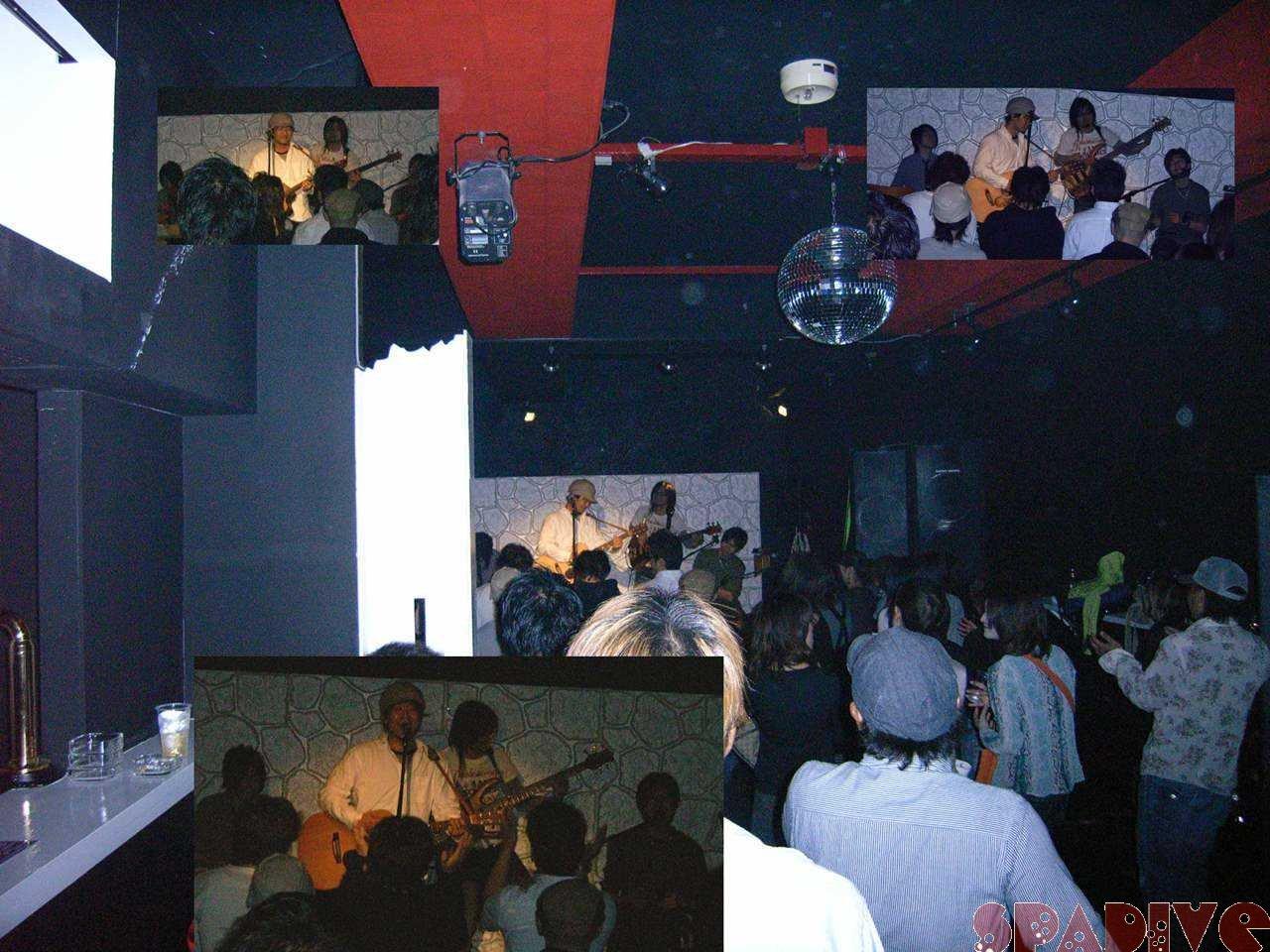ライブ鑑賞~橋本優樹 4/16/2007お隣のライブハウスで