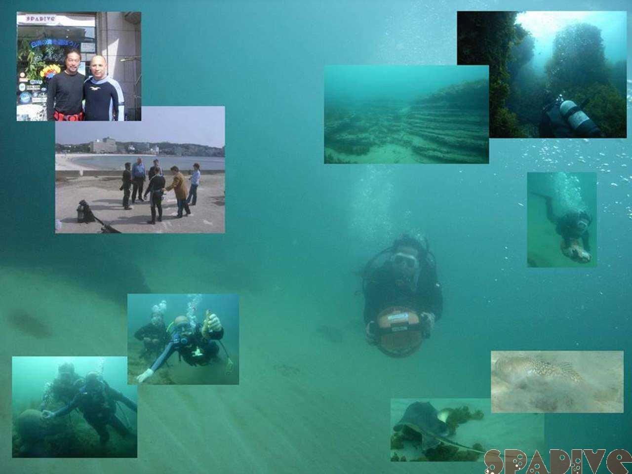 水中スクーターSPビーチダイブ|体験ダイビング|4/23/2007南紀白浜