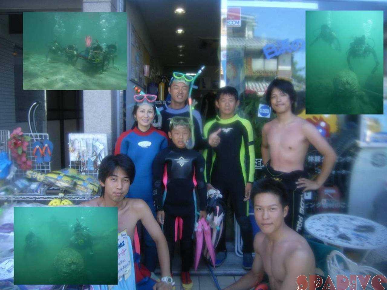 AOWライセンス取得コース&体験ダイビング|8/16/2007白浜
