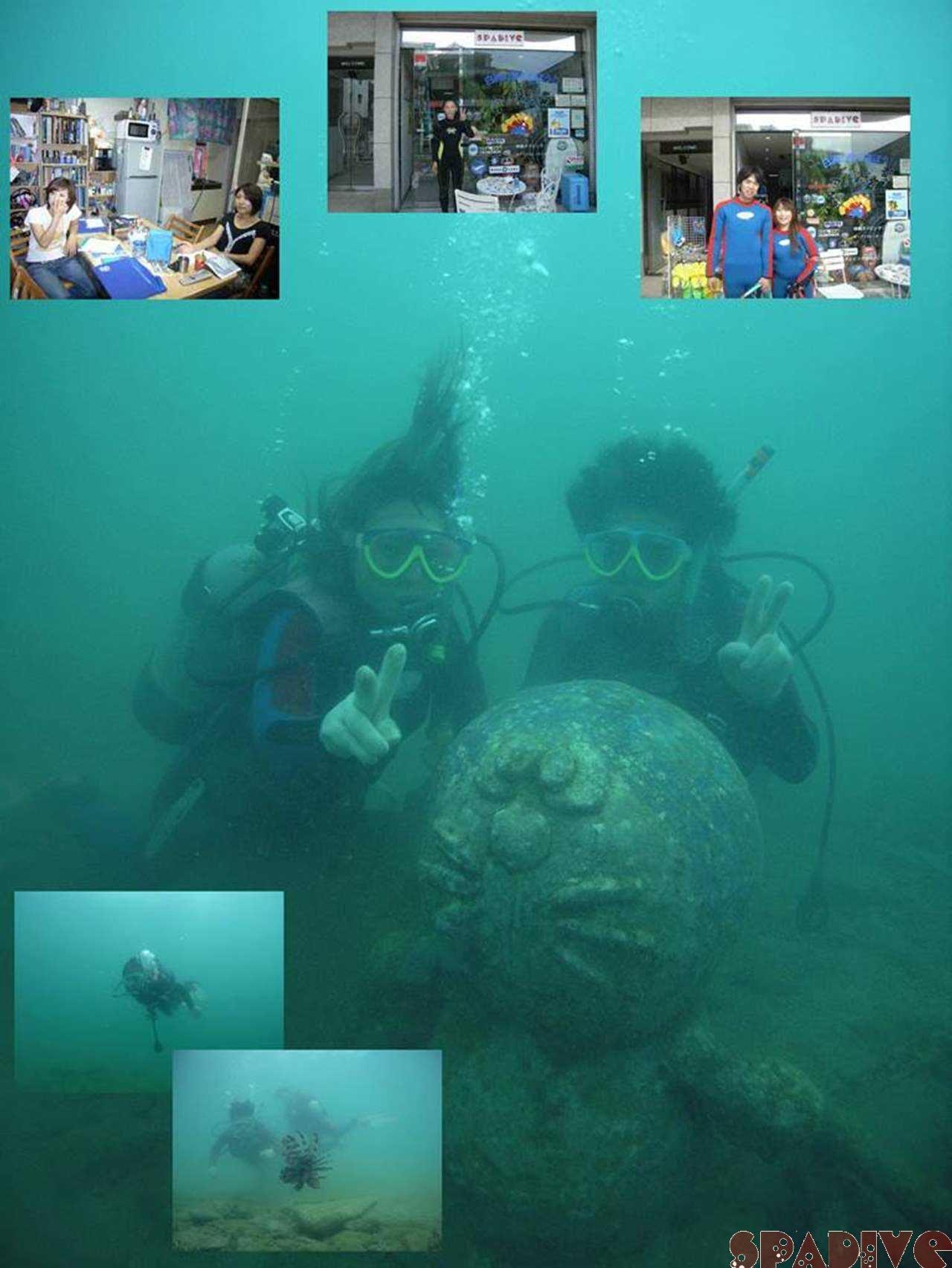 PPB中性浮力テーマダイブ&体験ダイビング|9/12/2007白浜権現崎