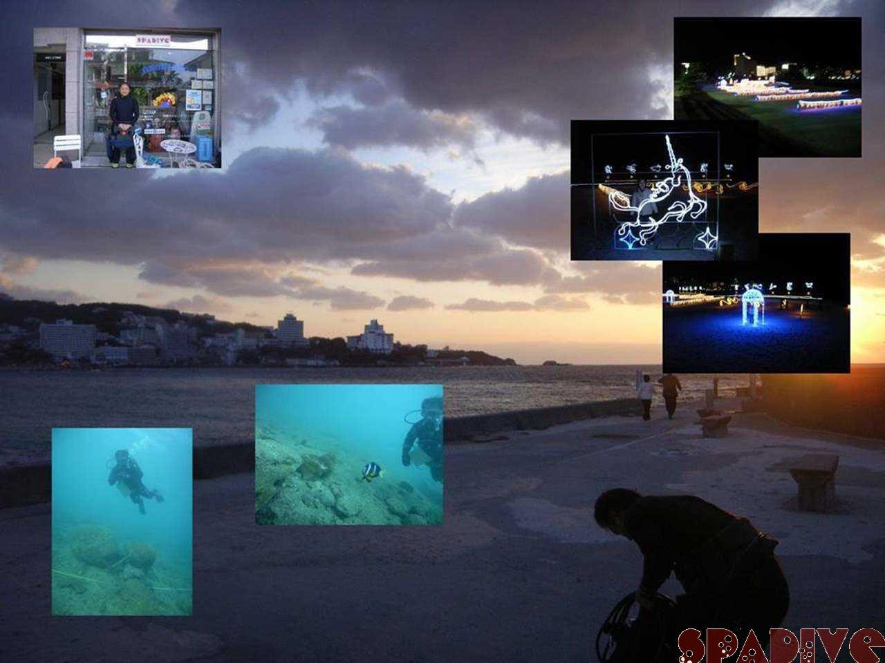 ナビゲーションSPビーチダイブ|12/4/2007南紀白浜権現崎